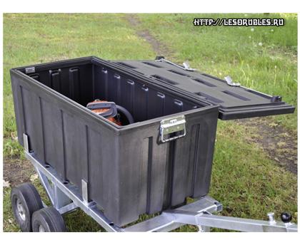 Пластмассовый ящик для инструментов 1